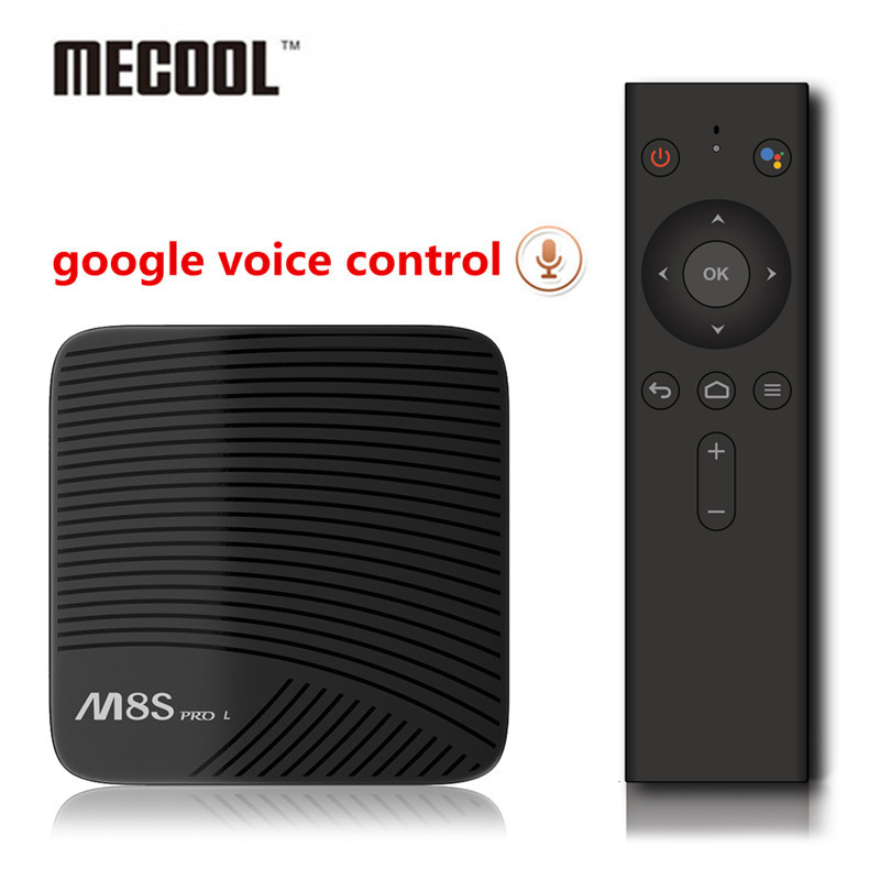 Mecool M8S PRO L google voice control Android 7.1 S912 3GB 16GB/32GB Smart TV Box support MAG25X KD17.4 5G wifi 4K BT 4.1 TV BOX mecool m8s pro l 4k tv box android 7 1 smart tv box 3gb 16gb amlogic s912 cortex a53 cpu bluetooth 4 1 hs with voice control