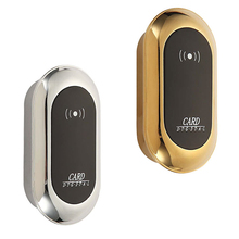 Electronic sensor lock with smart wristband card for sauna dressing room