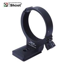 IShoot עדשה צווארון רגל חצובה הר טבעת Stand בסיס עבור ניקון 300 F/4E PF ו ניקון 70  200 F/4G להחליף בסיס Arca תואם
