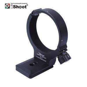 Image 1 - IShoot עדשה צווארון רגל חצובה הר טבעת Stand בסיס עבור ניקון 300 F/4E PF ו ניקון 70  200 F/4G להחליף בסיס Arca תואם