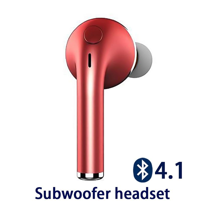 Subwoofer Stereo Bluetooth Headset Earphone Headphone BT4.1 Wireless Handfree Earbuds Universal for 99% Phone