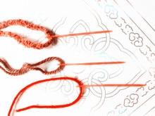 20PCS Plastic Knitting Needles Seam Sewing Tool