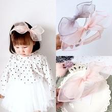 Korea Flowers Hand Made Rabbit Ear Retro Hair Accessories Hairband for Girls Bunny Crown Band Headbands For girls