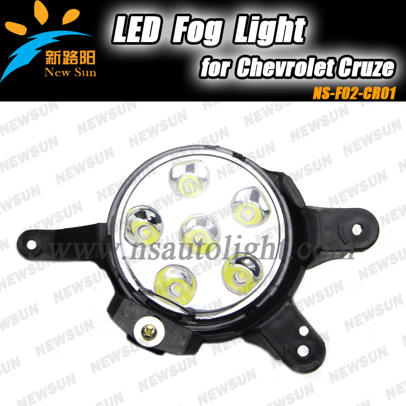 High performance for Cruze 2009~ on Led driving fog light, 2016 New design led fog light for Chevrolet sexy v neck sleeveless solid color hollow out criss cross dress for women