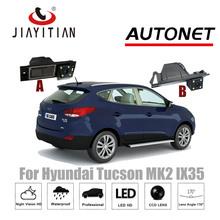 JIAYITIAN kamera tylna do Hyundai ix35 Tucson ix 35 MK2 kamera ix35 kamera cofania CCD noktowizor kamera na tablicę rejestracyjną tanie tanio Plastikowe + Szkło Drutu ACCESSORIES Systemy alarmowe Pojazd backup kamery Z tworzywa sztucznego ip68 170 degree DC 12V
