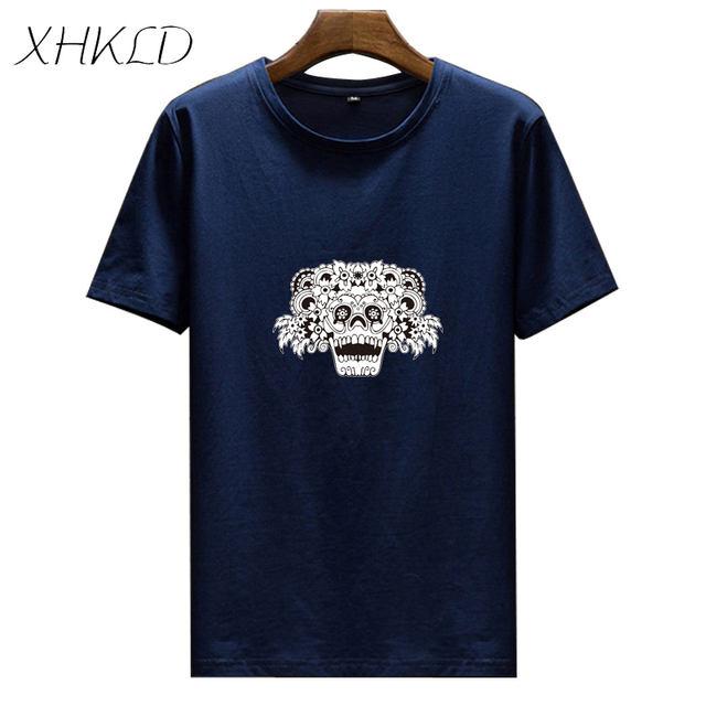 XHKLD Brand Mens T Shirt Japanese Soldier Warrior Samurai Casual White Short Sleeve shirt funny male Cotton o-neck top tees