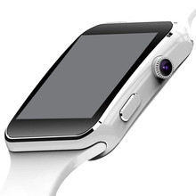 X6 Smart Watch For Men Android Phone Wrist Bracelet Support Max TF Card 32GB Sim Bluetooth Smartwatch Pedometer Sport Wristwatch