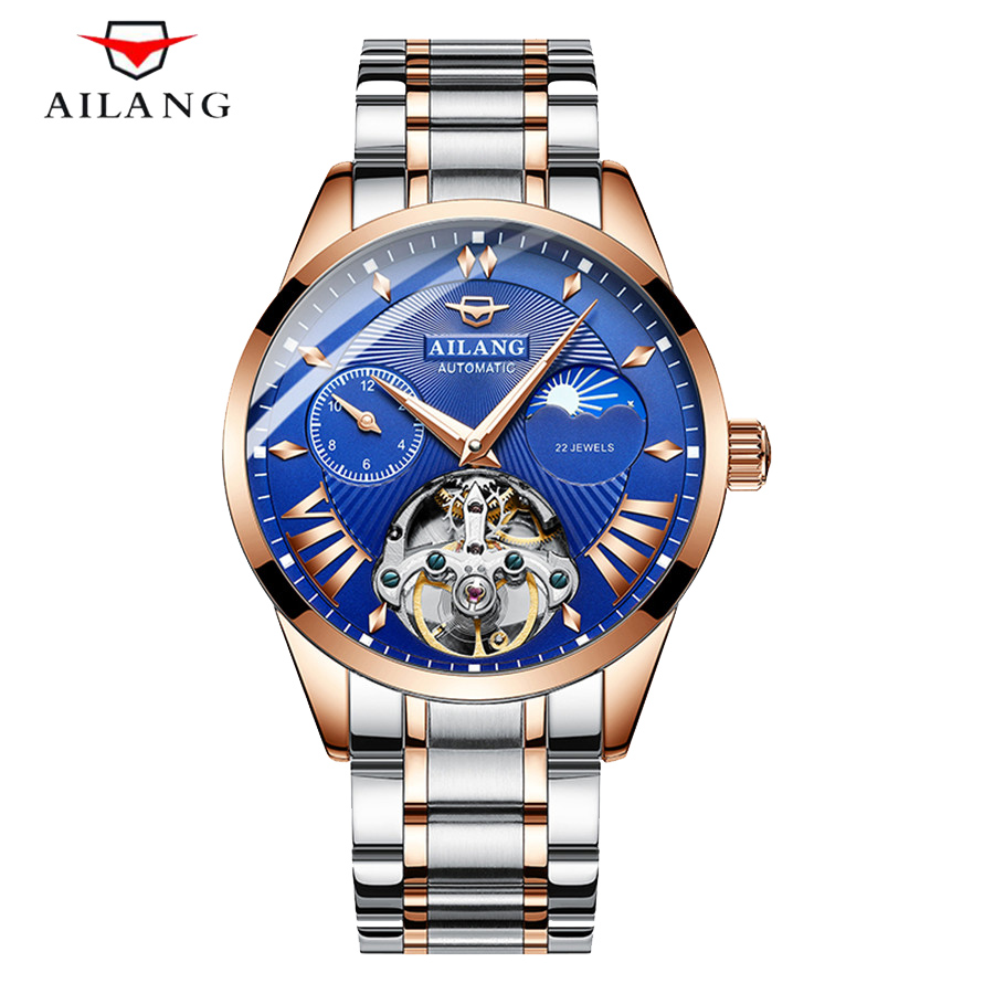 Tourbillon Men Fashion Military Stainless Steel Sport Automatic Mechanical Leather Wrist Watch Mens Watches Top Brand LuxuryTourbillon Men Fashion Military Stainless Steel Sport Automatic Mechanical Leather Wrist Watch Mens Watches Top Brand Luxury