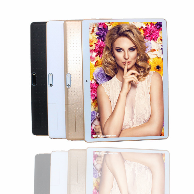 Glavey 10.1 Inch MTK6582 3G Phone Call Tablet  IPS Quad Core+dual Sim+gps+flashlight+1G/16G+Android 4.4