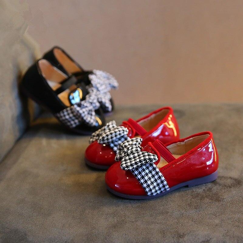 Chaussures noeud bébé fille