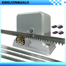 Complete Sets Of Heavy Duty 1800kgs Automatic Sliding Gate Opener /electrical sliding gate motors 6m Nylon Racks