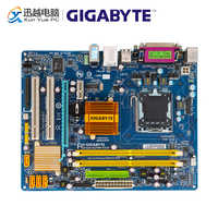 Gigabyte GA-G31M-ES2C Original Used Desktop Motherboard GA-G31M-ES2C G31 LGA 775 DDR2 4G SATA2 USB2.0 COM Port Parall Micro-ATX