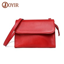 JOYIR Women Genuine Leather Bag Luxury Cowhide Shoulder Bag Designer Leather Crossbody Bags For Women Messenger Bags Handbags chispaulo women genuine leather handbags cowhide women messenger bags luxury brand woman crossbody bags for women tassel t551