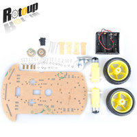 50sets B01 Motor Robot Car Stand Double Strong Smart Car Chassis For2W For Arduino Drive Car