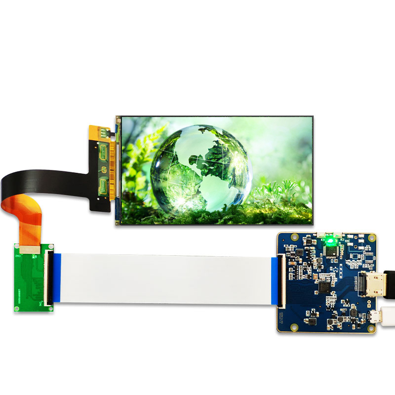 5 5'' 1440p 2K LCD Screen LS055R1SX03 2560x1440 HDMI to MIPI controller  board for WANHAO D7 3d Printer Projector Parts