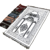 XHX888 Islam Prayer Rug Moslim vloerkleed Gebedskleed Tapis Outdoor Islamique Tapete Mat Priere Islamic Prayering Prayer Rugs