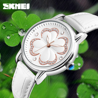 SKMEI Quartz Women Watches Simple Fashion Ladies Watch Top Brand Luxury Waterproof Wrist Watches Relogio Feminino