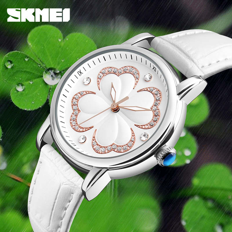 SKMEI Quartz Women Watches Simple Fashion Ladies Watch Top Brand Luxury Waterproof Wrist Watches Relogio Feminino Montre Femme reloj mujer 2017 watch top brand luxury ladies watches womens quartz wrist watch waterproof clock women hours relogio feminino