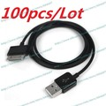 Lot 100pcs New USB Cable Charger Data For Samsung Tab 10.1 N8000 N8010 N8013