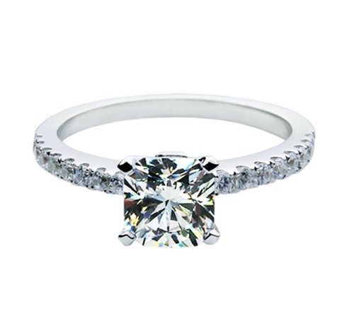 Online Get Cheap Square Diamond Wedding Rings Aliexpresscom
