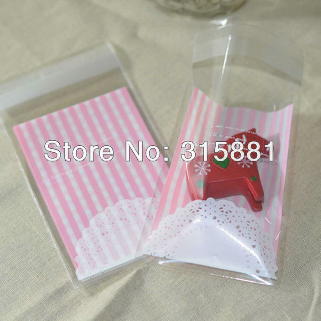 Excellent Small Cellophane Favor Gift Mini Bags, Self Seal Party Packaging  OL48