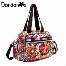 Small Waterproof Girl Handbags Women Famous Brand Designer High Quality Shoulder Bag For Female Nylon Women Messenger Bag T028
