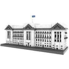 LOZ 9374 City Building Series Architecure Buckingham Palace Diamond Bricks  Building Block Best Toys Compatible with Legoe