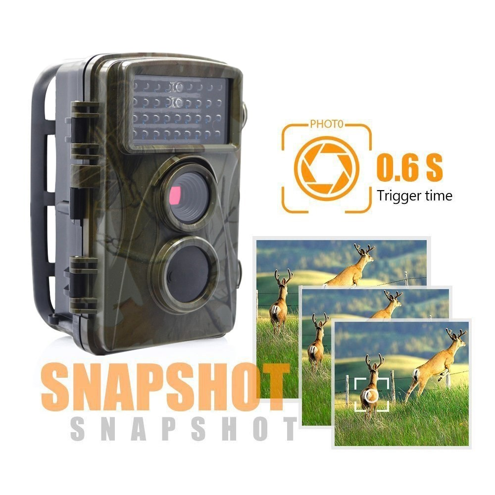 Hunting Trail Game Camera black infrared Scouting Cameras 8MP 720P IP66 Waterproof hunter cam for outdoor trap photo wildlife hd 720p scouting hunting camera digital infrared trail camera 2 4 lcd hunter wildlife cam