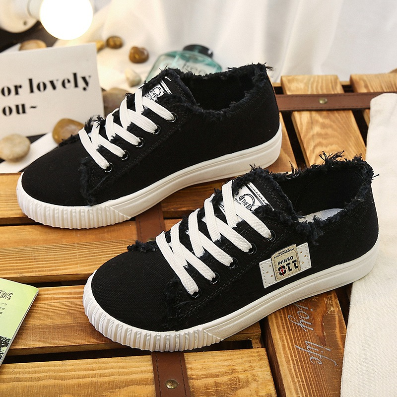 summer fashion women casual shoes lace up comfortable flat casual shoes slipony woman footwear leisure women canvas shoes Spring/Autumn canvas cool women sneakers lace up fashion adult flat casual leisure European elegant comfortable shoes woman