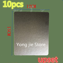 10 stks magnetron platen ovens mica magnetron 12*15 cm Geschikt voor midea Haier galanz panasonic LG ultra dikke mica