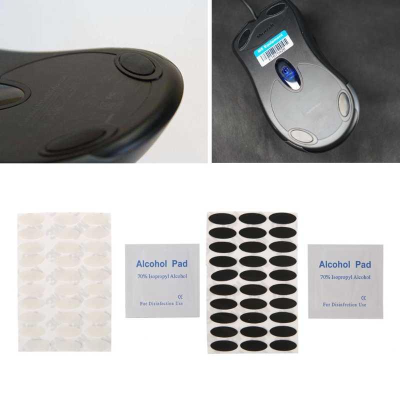 30 комплектов/партия 0,6 мм Толщина Мышь средства ухода за кожей стоп Мышь коньки для microsoft IE3.0 IO1.1