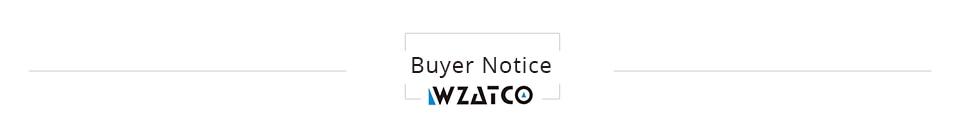 Buyer notice Projector