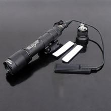M600C тактический Скаут свет винтовка фонарик для оружия светодиодный фонарь для охоты постоянный и мгновенный выход с хвостовым переключателем