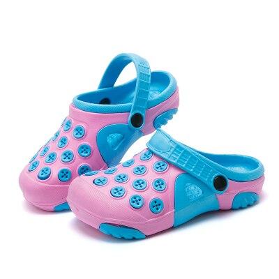 scelta migliore per tutta la famiglia nuova collezione US $8.09 10% di SCONTO|Big Size Bambini Sandali Per Le Ragazze di Estate  Scarpe di Gomma Bambino Pantofole dei sandali Scarpe Buco Ragazzi Spiaggia  ...