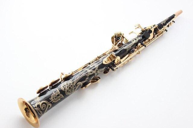 Бесплатная доставка OEM альтсаксофон Баритон саксофон сопрано шаг черный 54 Профессиональный B саксофон мундштук