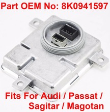 1PCS 12V 35W D3S D4S OEM HID Xenon Headlight Ballast Module Control Unit Car Part Number 8K0941597 Fits For Audi Passat Sagitar 1pcs 12v 35w d1s d3s oem hid xenon headlight ballast computer control unit car part number 130732915301 fits for bmw mini cooper