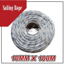 8 MM  UHMPE Marine yachting rope Dock lines Mooring lines boats Sailing Marine running rigging Strength 3200KG 100 M/Roll