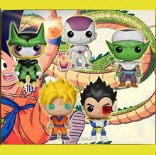 цена на 2019 Funko POP DBZ DragonBall Z Son GoKu Action Figure Super Saiyan Figurine Collection Model Toy