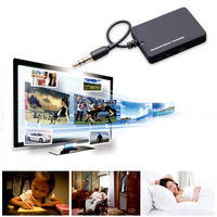 2016 Mini 3 5mm Bluetooth Audio Transmitter A2DP Stereo Dongle Adapter For TV IPod Mp3 Mp4