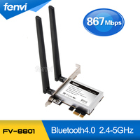 Fenvi Desktop PC Dual Band Wireless ABGN PCI Express PCI E Wi Fi Card Adapter Wifi