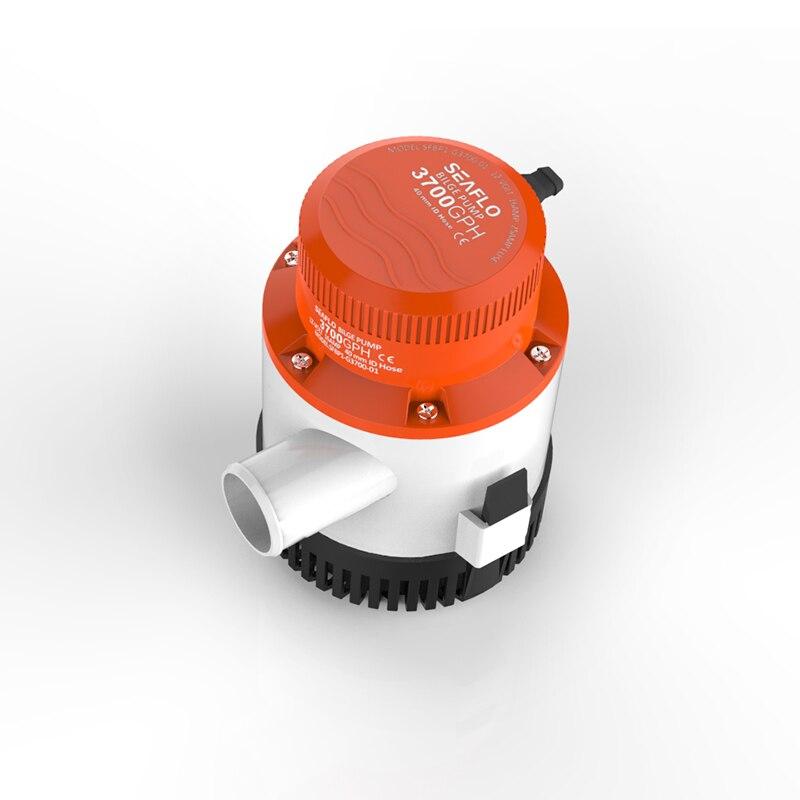 Pompes de puisard de pompe à eau de cale de cc de 12 volts de naflo 3700GPH réservoirs d'appâts intermittents bateaux marins submersibles
