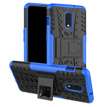 One Plus 7 Pro Shockproof Rugged Armor Phone Case Coque for One Plus 6T 6 with Holder One Plus 7 Hyrbid Bumper Hard Cover Funda