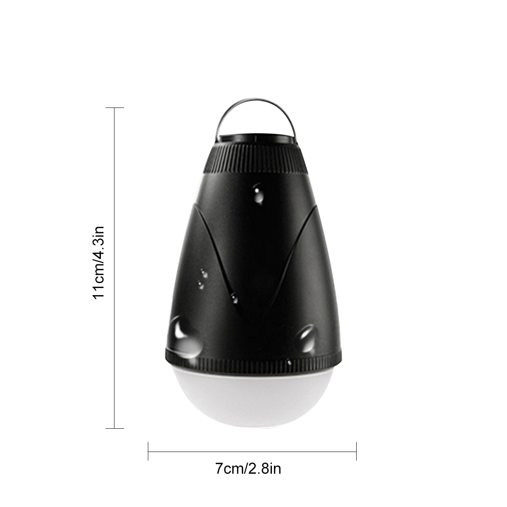 LEDGLE Simple Camping Lantern Waterproof Outdoor Lamps Remote Controlled LED Lamps Rechargeable Design Dimmable New black Light