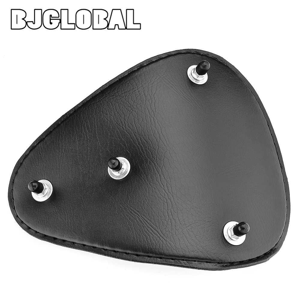 BJGLOBAL Motorcycle Flame Skull Solo Slim Seat Mounts For Harley Sportster Bobber Chopper Custom application in Seats Benches from Automobiles Motorcycles