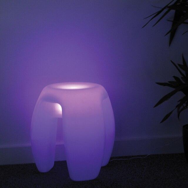 Magic led illuminated furniture waterproof indoor 40*40*40cm led cube chair,bar stools,wedding,Cofee Bar decor Free shipping 1pc 1
