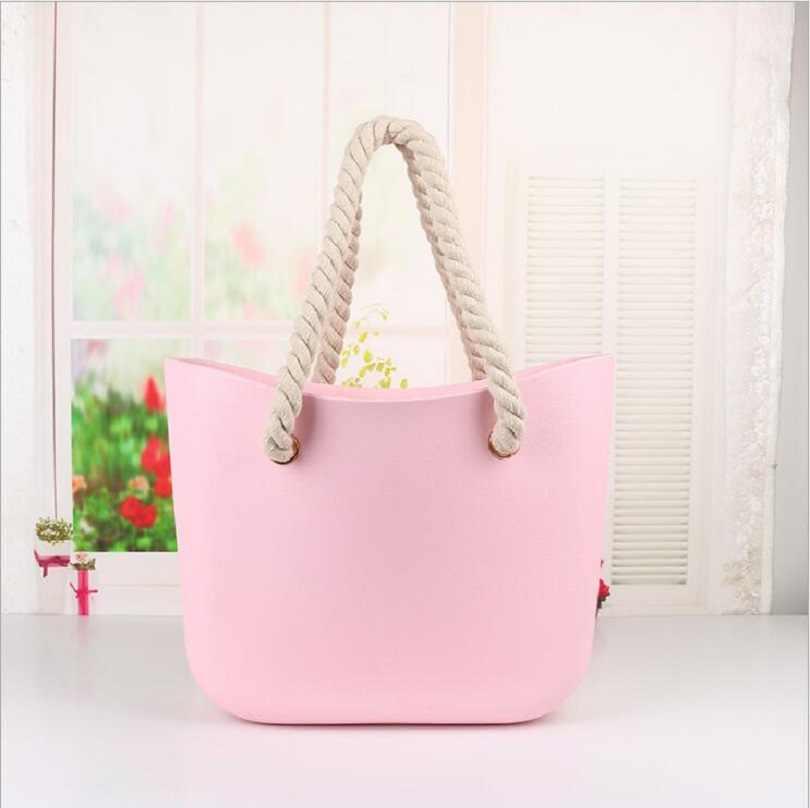 2a3f79a16814 Пляжная сумка с плетением obag, с ручками, классическая форма, женская,  baobao,