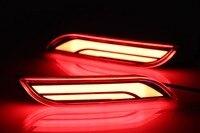Car LED Fog Lamp Rear Bumper Light Tail Brake Lamp For Toyota Camry 2018