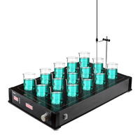 HMS 15H 15 Channel Laboratory magnetic heating and stirring 15 working capacity 7500ML