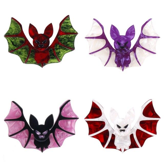 Fant & Jack Halloween Vintage Vampire Flügel Bat Brosche Frauen Mann ...