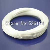 Free shipping 95m Acrolink Silver Plated OCC Signal Teflon Wire Cable 7 Pins * 0.2mm For DIY Headphone cable